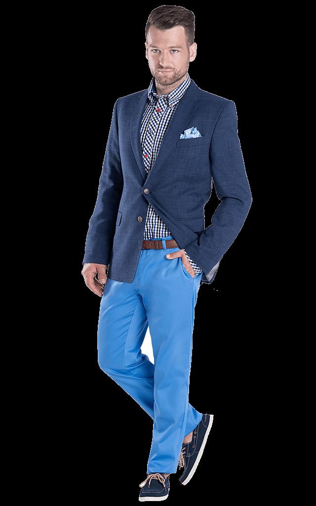 mėlynas švarkas Borys 3R1